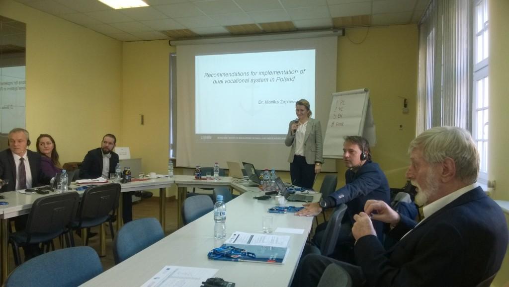 ICC4VET koosolek Gdanskis
