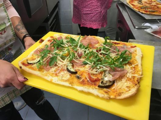Rukola pitsa